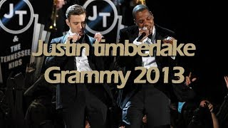 Download Justin Timberlake - The Grammy Awards 2013 HD Video