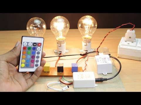 How to Make Remote Control chaser Circuit Without microcontroller