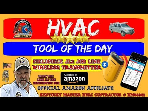 Fieldpiece JL2 Job Link Transmitter : HVAC Tool of the Day