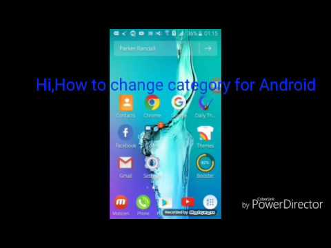 How to change category youtube for Android (easy)