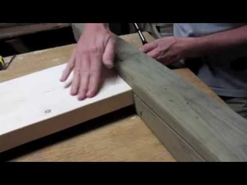 Build a bed with strong joinery like this ● extremely strong and easy