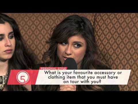Fifth Harmony on their Personal Style