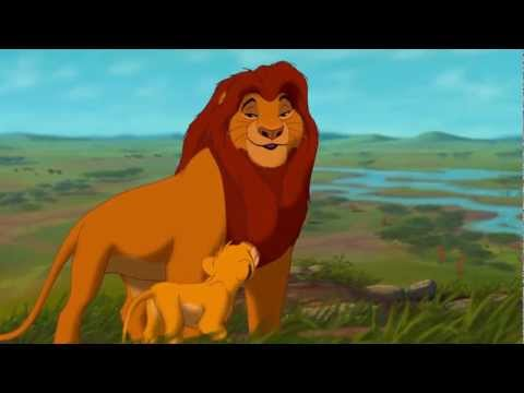 The Lion King 3D - 'Morning Lesson With Mufasa'- Official Disney Movie Clip