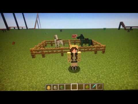 Minecraft, how to summon/tame skeleton and zombie horses (also a skeleton trap) for 1.12