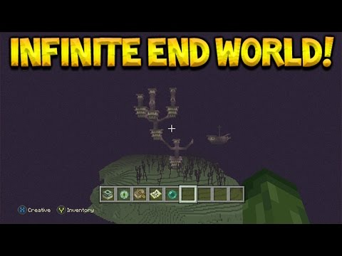 Minecraft Xbox Console - How To Get To The End City WITHOUT End Gate Or Killing Enderdragon