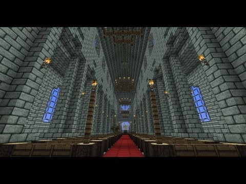 Minecraft - Cathedral tutorial New - Part 1