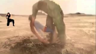 HWR- Roman Reigns:Super Man Punch Vine (Hulk vs Superman)