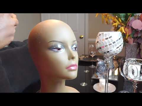 How to make a wig with a hot glue gun PART 1 | FT. Her Hair Company | Brazilian Curly