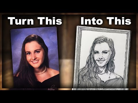 Turning a Picture into a Detailed Cartoon