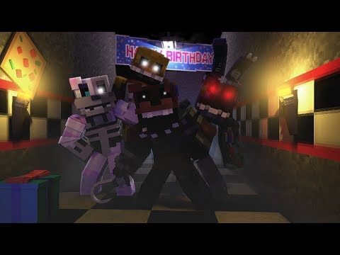 The Joy of Creation Ignited Animatronics Attack Sister Location!- Minecraft FNAF Roleplay