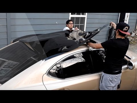 How to Vinyl Wrap a Car's Roof