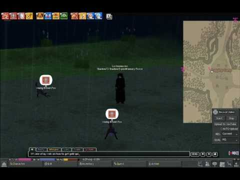 Mabinogi -How to get 10000 gold in 10 minutes.