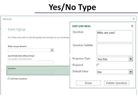 SharePoint Survey