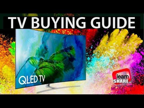 TV Buying Guide 2018 - HDR 4K TVs, OLED, LCD/LED, IPS, VA Screens