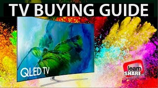 TV Buying Guide 2019 - HDR 4K TVs, OLED, LCD/LED, IPS, VA Screens