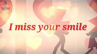 I miss you WhatsApp love status/raja rani Tamil movie bgm