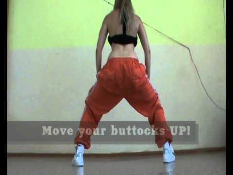 Booty Basic(*).Tutorial by EHABY.( for booty dance, latino,dancehall, ragga, bellydance,hip hop etc)