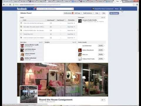 How to Change an Image of a Facebook Business Page Application