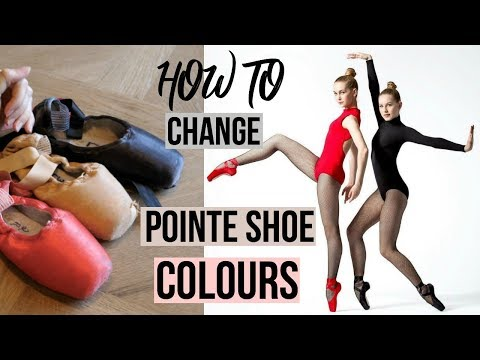 HOW TO - colour your pointeshoes + GIVEAWAY(finished) | Talia