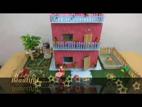 How to make working model for rainwater harvesting step by step