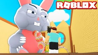 ESCAPE THE EVIL EASTER BUNNY IN ROBLOX