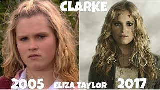 The 100 TV show Actors, Before and After they were famous