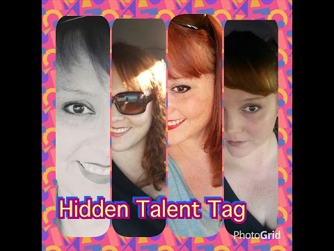Hidden Talent/ What is your hidden talent? TAG!