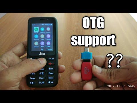 Jio phone : OTG support ? 🤔 ✓