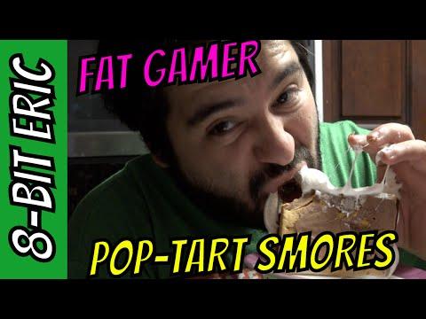 POP-TART SMORES  - FAT GAMER - EPISODE 07   8-Bit Eric