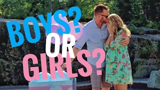Gender Reveal for TWINS!!