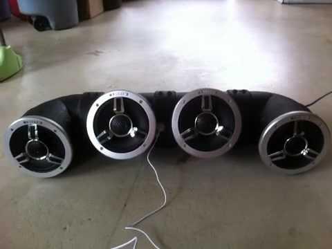 Homemade ATV 4 Speaker Audiotube