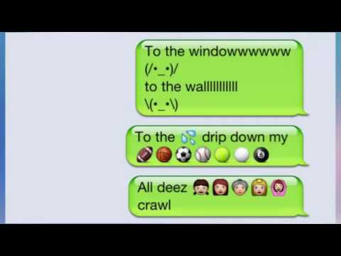 Funny Creative Texts With Emojis Compilation
