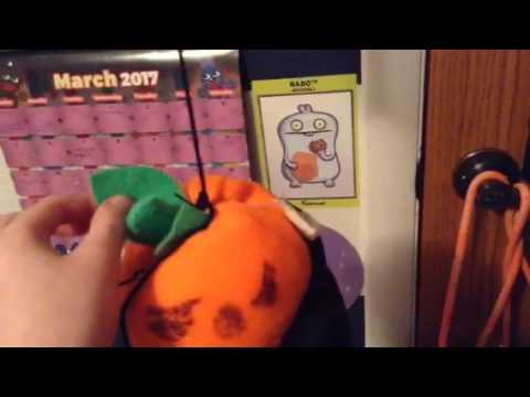 Homemade animated up and down pumkin Halloween prop