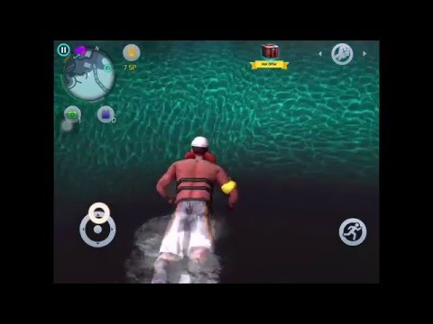 How To Swim Underwater In Gangstar Vegas! |How to dive in Gangstar vegas! Vegasseries-#2