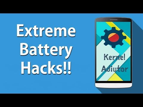 Increse Your Battery Life With Kernel Adiutor Best Settings !!