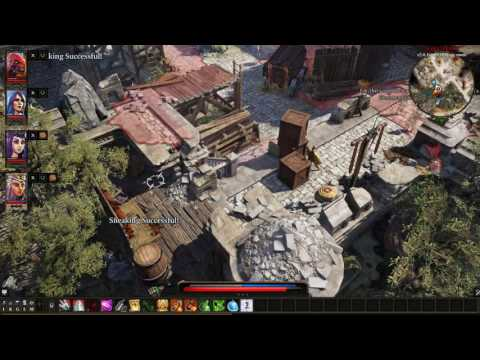 [DOS 2 EA] Getting into Fort Joy Prison MGS Style