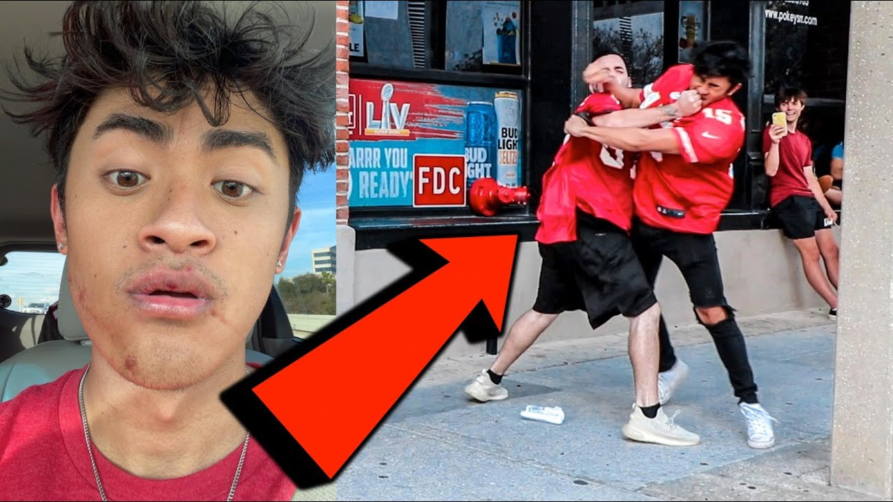 Ireland Boys get in FIGHT *KNOCKED OUT*