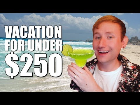 TRAVEL CREDIT CARD HACK - How I Booked an All-Inclusive Vacation For Under $250