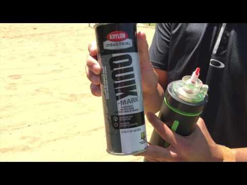 Rust-Oleum Industrial- SpraySmart Superiority | Sand Application