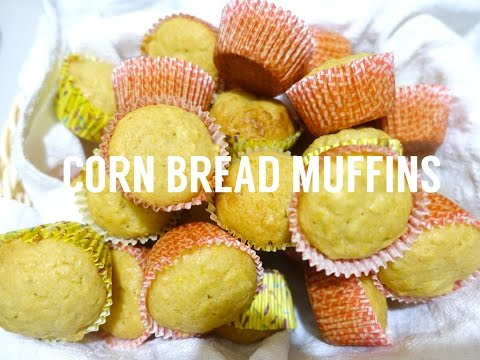 Corn Bread Muffins (Without Corn Meal) | The Weekend Sugar
