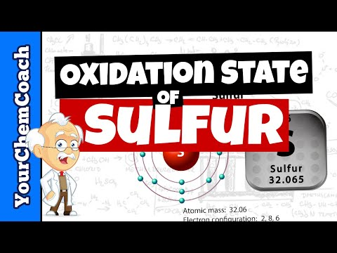 How to Find the Oxidation of Sulfur in a Compound