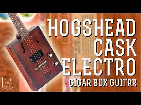 Xxx Mp4 Cask Cigar Box Guitar Hogshead Electro Acoustic By JN Guitars 3gp Sex