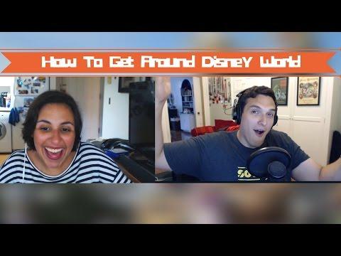 How to Get Around Disney World!