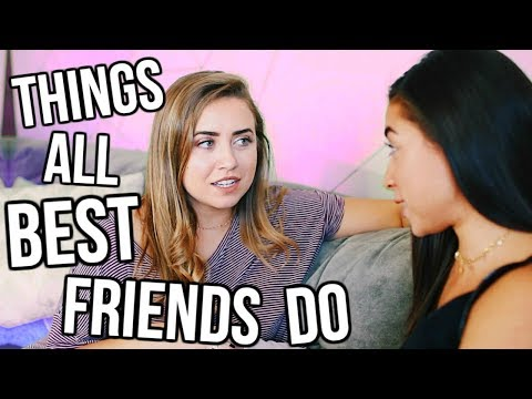 Things ALL Best Friends Do! ft. Jeanine Amapola