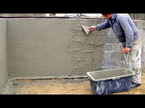 Building industry. Construction of a family house. Part 5. Full HD! Plastering, insulation