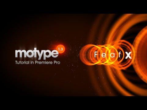 Motype Titles in Premiere Pro