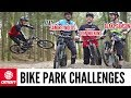 Bike Park Challenges With Blake Samson, Sam Reynolds and Olly Wilkins