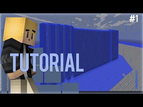 Minecraft Tutorial #1 - How to auto generate cobblestone walls!