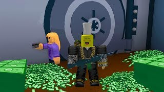Roblox Rocitizens How To Rob The Bank!