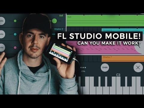 CAN YOU SUCCEED AS AN FL STUDIO MOBILE PRODUCER? Making a Beat FL Studio